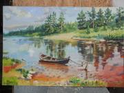 Картины- живопись на заказ,  продам картины,  пишу портреты с фото недор